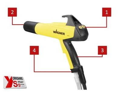 Yorkshire Spray Services Ltd - Wagner X1 Gun Detail