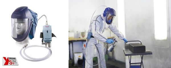 Yorkshire Spray Services Ltd - Air Fed Mask Airvisor MV2 Paint Kit
