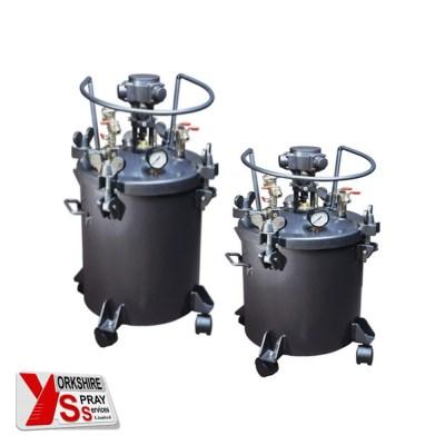 Q Tech Pressure Pot Pneumatic Yorkshire Spray Services Ltd