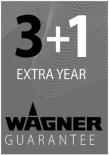 Wagner 3 + 1 Year Guarantee