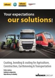 Yorkshire Spray Services Ltd - Coating, Bonding & Sealing for Agriculture, Construction, Earthmoving & Transportation Brochure