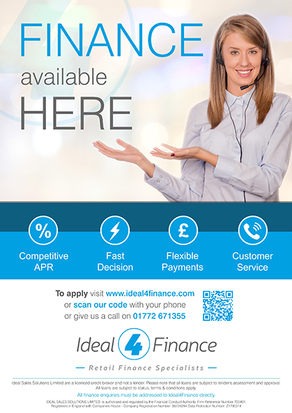 Ideal for finance course funding poster