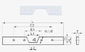 Drag chain conveyor parts YT conveyor elevator parts