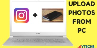 How to Upload Photos From PC on Instagram
