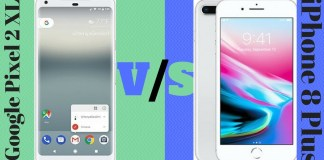 Google Pixel 2 XL vs iPhone 8 Plus
