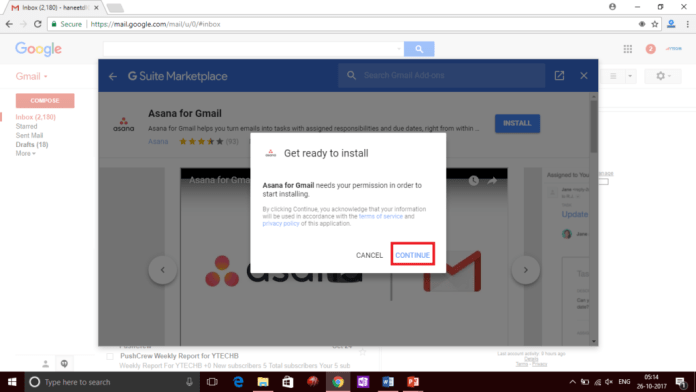 Install Add-ons in Gmail