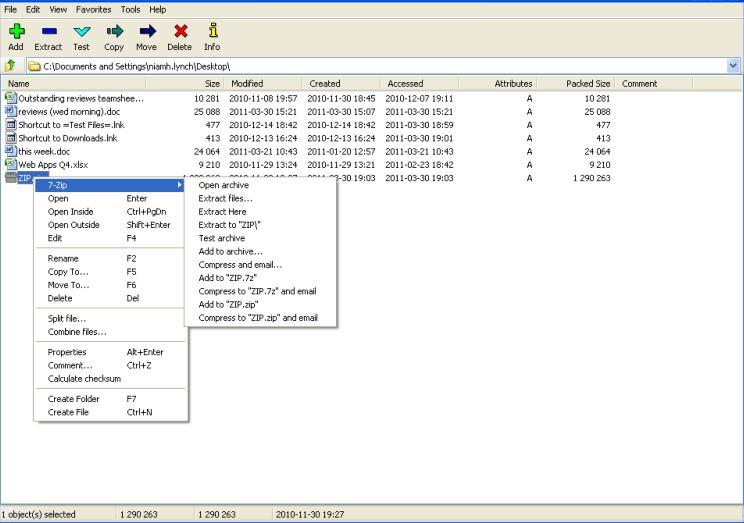 free winzip file opener