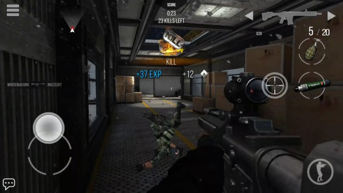 online multiplayer shooting games