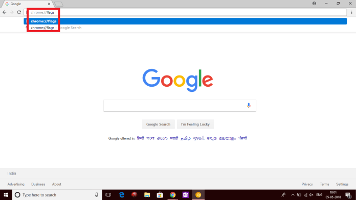 Google Chrome User Interface