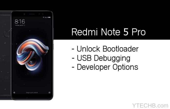 How to Unlock Bootloader on Redmi Note 5 & Note 5 Pro