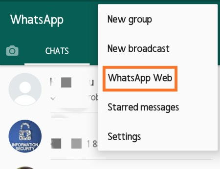 how to use whatsapp on laptop