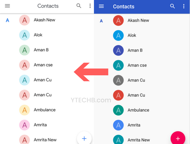 Google Contacts 3.0 apk