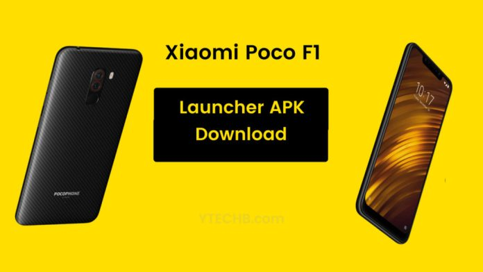 Download Poco F1 Launcher APK for all MIUI devices [FREE]