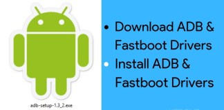 download & install ADB and Fatboot drivers