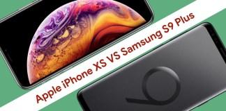 iPhone Xs vs Samsung S9 Plus