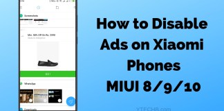 how to disable ads on xiaomi phones