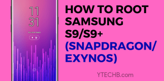how to root samsung s9