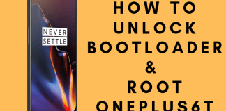 how to unlock bootloader & root oneplus 6t