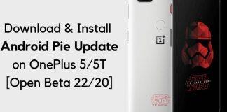 OnePlus 5T Open Beta
