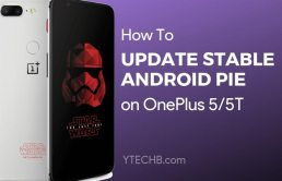 Download OnePlus 5 Pie Stable Update
