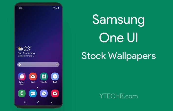 Download Samsung One UI Stock Wallpapers [FHD+]