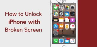 How to unlock iphone with unresponsive screen