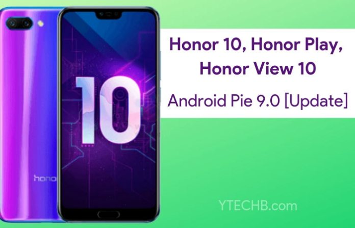 Download Honor 10 Android Pie Update