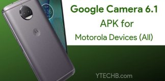 Download Google Camera 6.1 for Moto G5 Plus