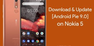 Nokia 5 Android Pie Update