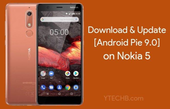 Nokia 5 Android Pie Update