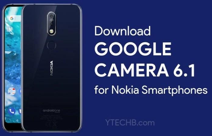 Google Camera 6,1 for Nokia 6.1 Plus