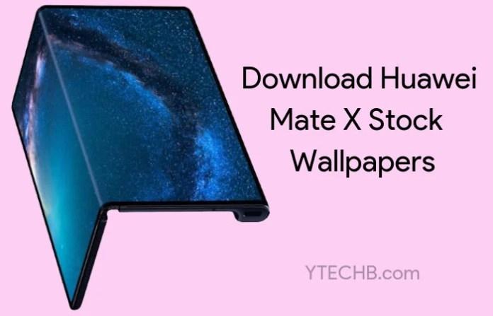 Huawei Mate X Wallpapers