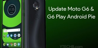 Moto G6 Android Pie stable update