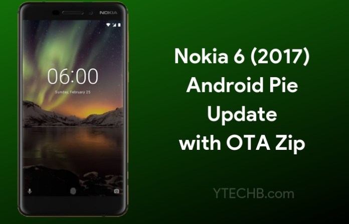Download & Install Android Pie on Nokia 6 (2017)