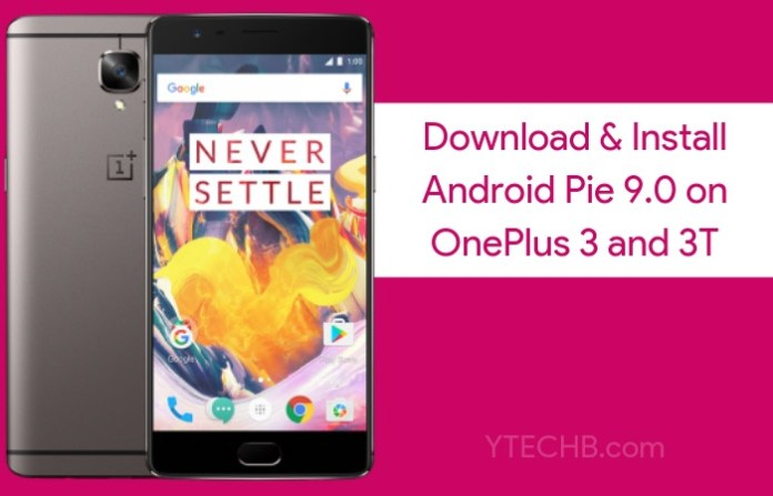 Download Android Pie for OnePlus 3