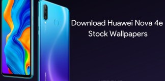 Huawei Nova 4e Wallpapers