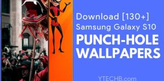 Punch hole wallpapers for samsung galaxy s10