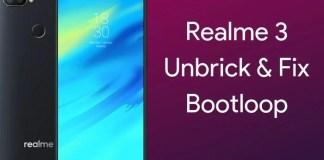 Unbrick realme 3