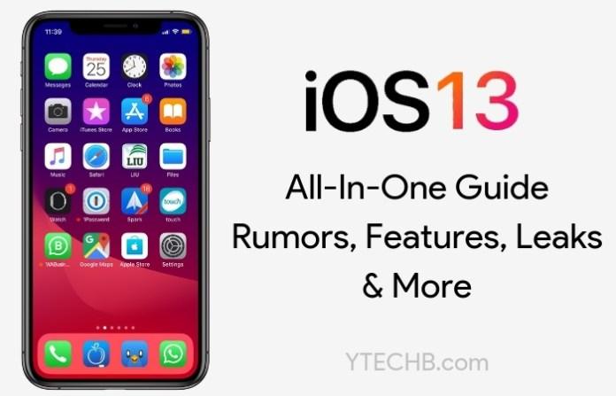 ios 13 details