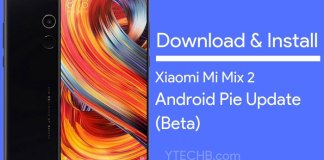 Download Mi Mix 2 Android Pie Beta Update