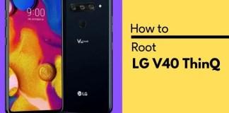 Root LG V40 ThinQ