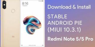 download redmi note 5 pro android pie update