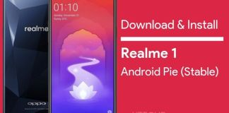 Realme 1 Android Pie Stable Update