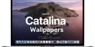 macOS Catalina Wallpapers