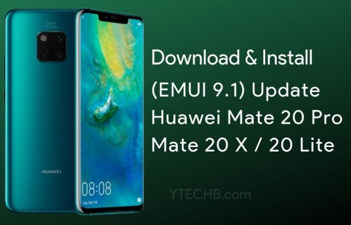 download EMUI 9.1 for huawei mate 20 pro
