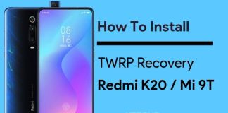 How to install twrp on Mi 9T