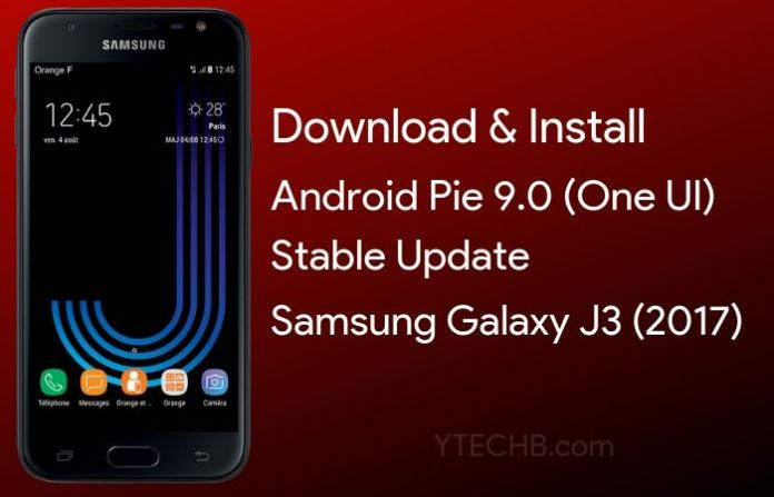 Download Samsung Galaxy J3 Android Pie Update