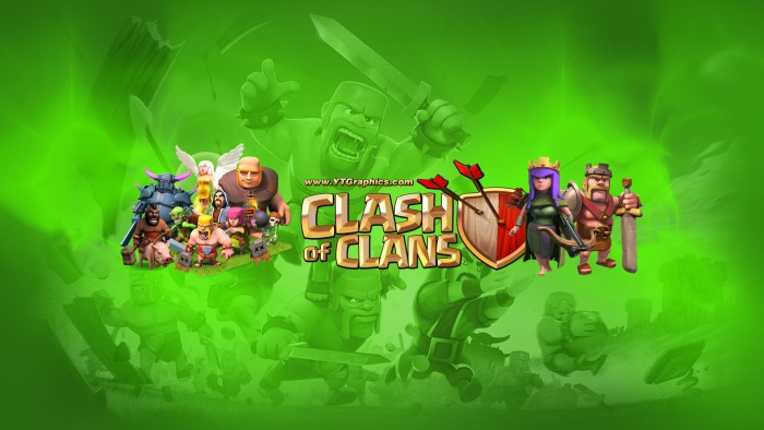Clash Of Clans YouTube Channel Art Banners