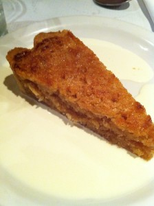 Treacle Tart at Andrew Edmunds
