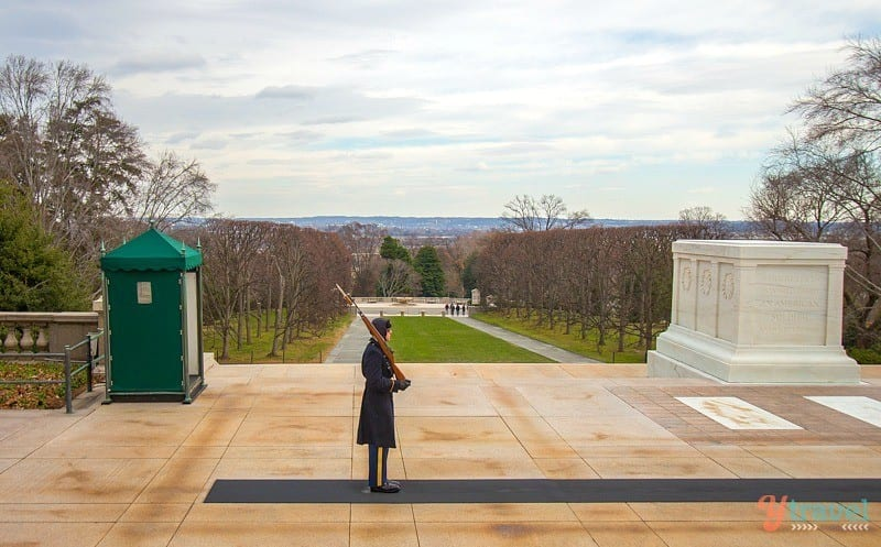 Tomb of the Unknown Soldier, Arlington National Cemetery - Washington DC